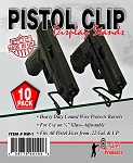Pistol Clip Display Stand - 10 Pack