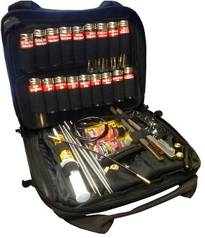 Black Tactical Soft Case Pro-Shot Super Kit .22 Cal. - 12 Ga.